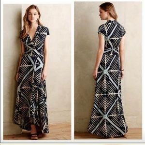 Anthropologie Maeve Desert Star Maxi Dress